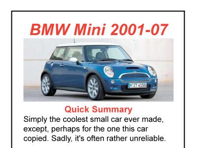 Report Lwe346 2005 Mini Cooper In Black